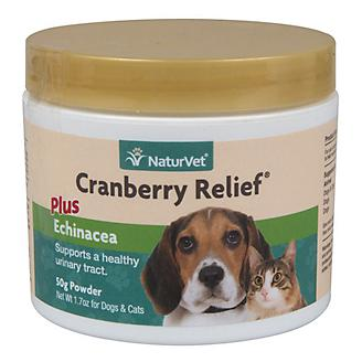 NaturVet Cranberry Relief Plus Echinacea - 50 gm