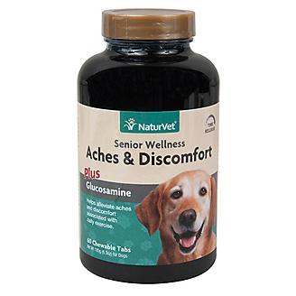 NaturVet Senior Dog Aches and Discomfort - 60 ct