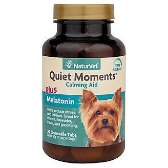 NaturVet Quiet Moments Calming Aid Chew Tabs