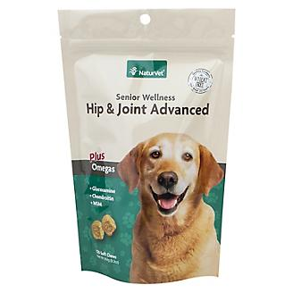 NaturVet Senior Dog Hip & Joint Soft Chews - 120ct