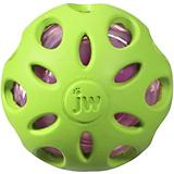 JW Pet Company Crackle Heads Ball Dog Toy