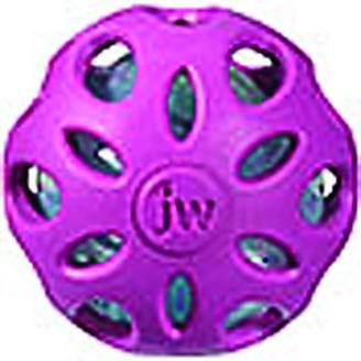 JW Pet Company Crackle Heads Ball Dog Toy