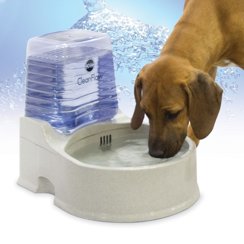 KH Mfg CleanFlow Filter Water Bowl Large