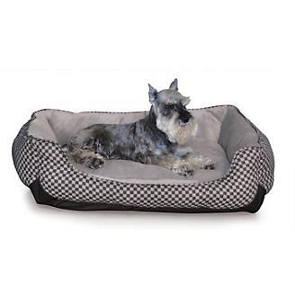 KH Mfg Self-Warming LoungeSleeper Black Dog Bed