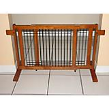 Crown Pet 21 inch Freestanding Wood Pet Gate