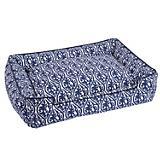 Jax and Bones Waverlee Blue Lounge Dog Bed