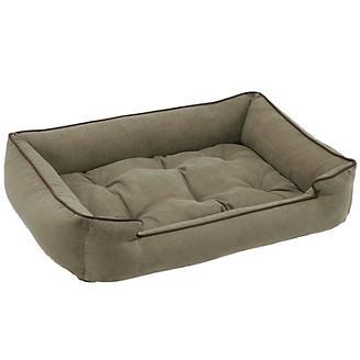 Jax and Bones Microsuede Pine Dog Bed
