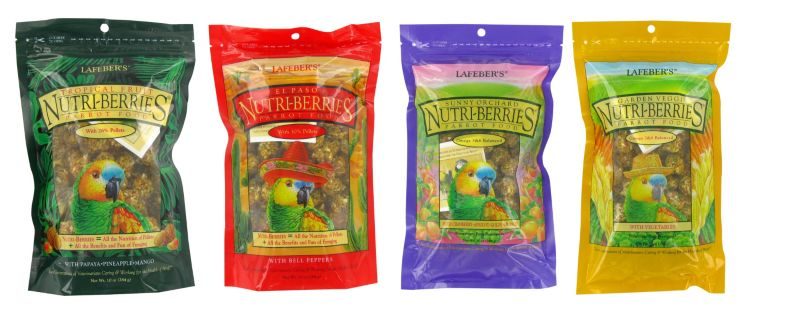 Parrot Gourmet Nutri Berries Sunny Orchard 3 lbs