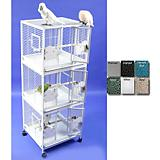 A and E Medium Triple Stack Bird Cage