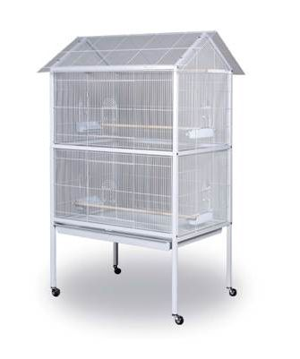Prevue White Aviary Flight Cage