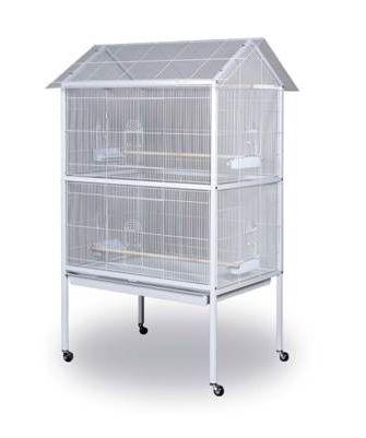 Prevue White Aviary Flight Cage