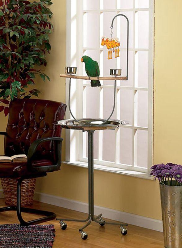 avian adventures parrot playstand