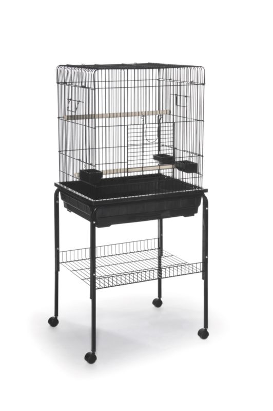 Prevue Parrot Square Roof Bird Cage
