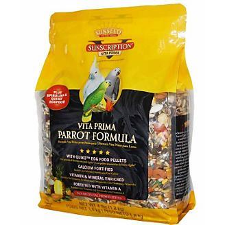 Sun Seed Vita Prima Parrot Bird Food 4lb