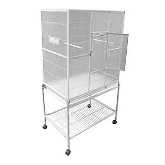 A and E Flight Bird Cage with Stand