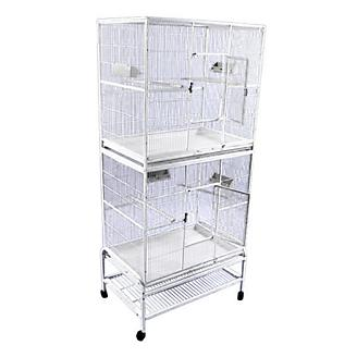 A and E Double Stack Flight Bird Cage
