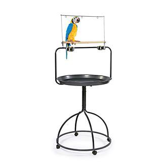 Prevue Round Parrot Playstand 3183 Black