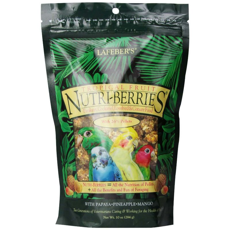 Lafeber Cockatiel Nutri Berries Tropical Fruit