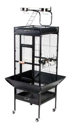 Prevue 3151 Select Signature Parrot Cage Red