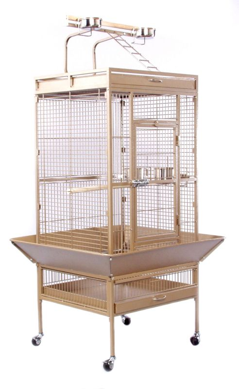 Prevue 3152 Select Signature Parrot Cage Red