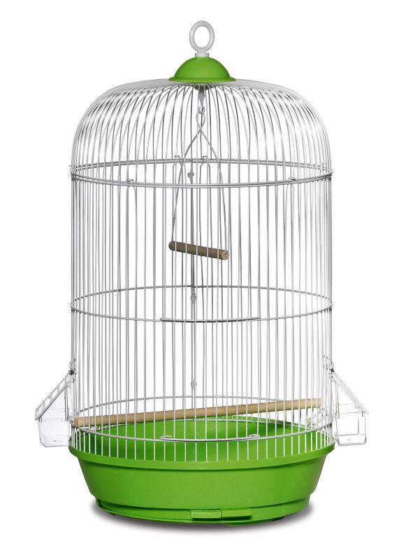 Prevue Small Round Bird Cage Green