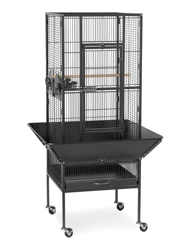 Prevue Park Plaza Bird Cage Small Pewter
