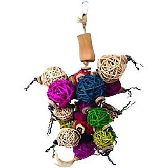 Java Wood Ball Thing Bird Toy