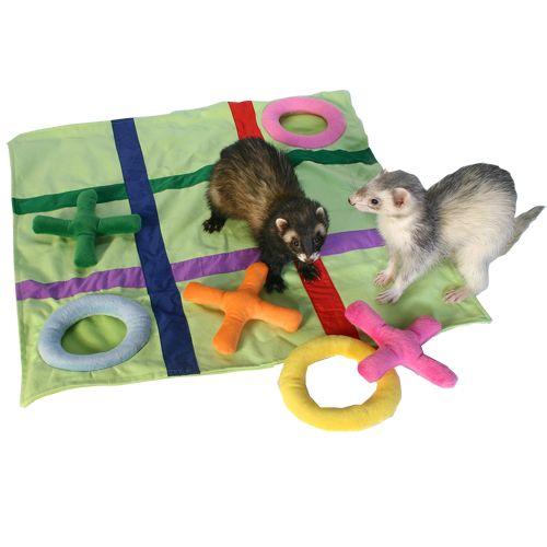 Marshall Tic Tac Toe Ferret Blanket
