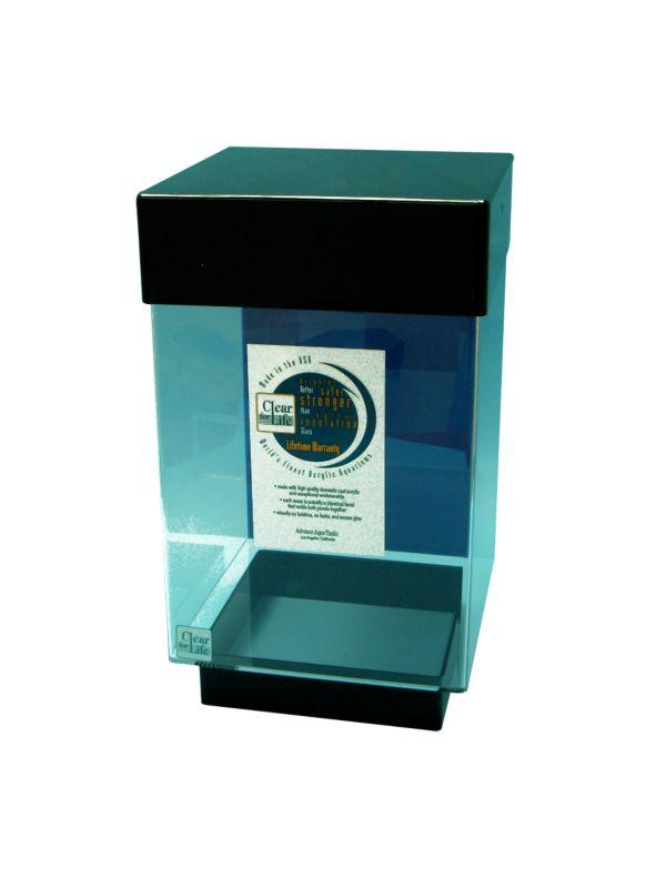 Desktop Cube Aquarium 10 Gallon Clear