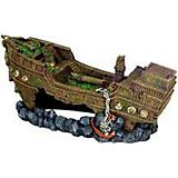 Blue Ribbon Jumbo Shipwreck Tank Ornament