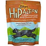 Zukes Hip Action Dog Treats Peanut Butter