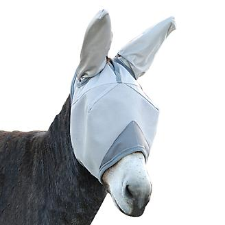 Cashel Crusader Mule Fly Mask with Ears Grey Arab - Statelinetack com