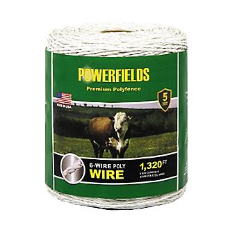 Powerfields 6-Wire Polywire