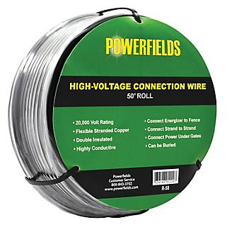 Powerfields High Voltage Wire Rated 20,000 Volts