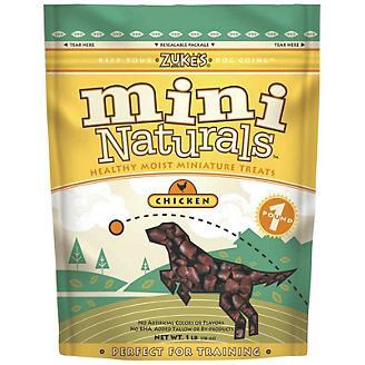 Zukes Mini Naturals Moist Dog Treats