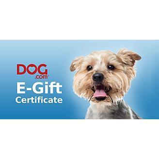 Dog.com Gift Certificates