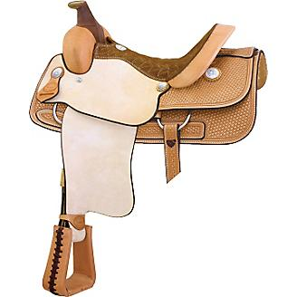 Cowtown Performance Roper Saddle Pecan 15.5In