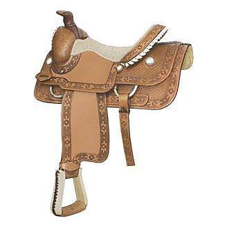 Billy Cook Saddlery Apache Bsk Roper Saddle 16In R - Statelinetack com