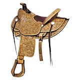 High Desert Ranch Saddle Rich Pecan 15.5In