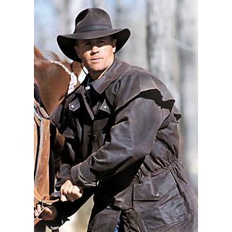 Outback Trading Oilskin Bush Ranger Jacket