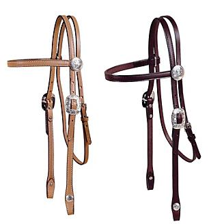 Tory Silver Durango Browband Headstall