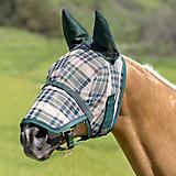 Kensington Long Nose Fly Mask w/Ears XX-Large Delu
