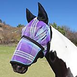 Kensington Long Nose Fly Mask w/Ears XX-Large Plum