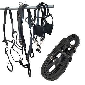 Tory Leather Driving Harness
