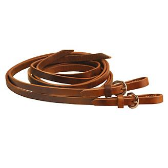 Tory Harness Leather Buckle End Split Reins