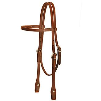Tory Harness Leather Chicago Browband Headstall