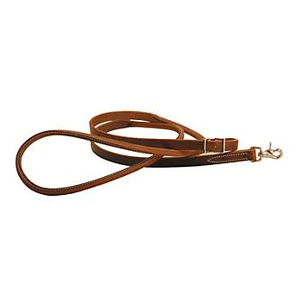 Tory Harness Leather Rolled Hand Roping Rein