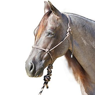 Professionals Choice Rope Halter w/Lead