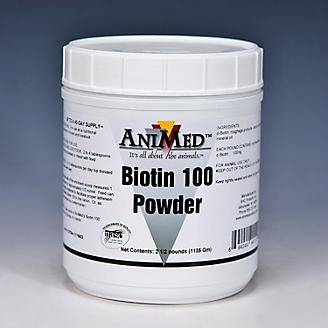 AniMed Biotin 100 Powder Supplement