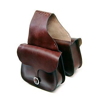 Tough-1 Leather Saddlebag